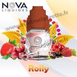 Pack 5 flacons Rolly - Nova Liquides