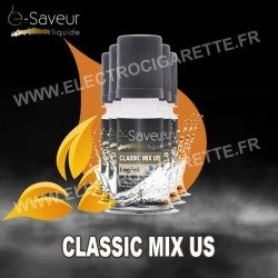 Pack 5x10 ml - Classic Mix US - e-Saveur