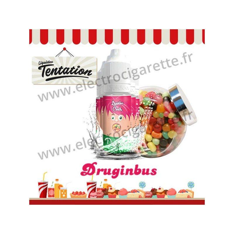 5 x 10 ml Druginbus - Candy Tentation - Liquideo