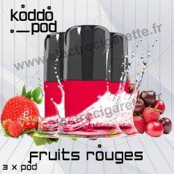Fruits Rouges - 3 x Pods Nano - KoddoPod Nano - Nouveaux Pod