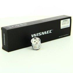 Pack de 5 résistances Triple WM03 en 0.2 Ohm Gnome - Wismec