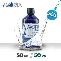 Base 500ml - 0mg - Avoria - 50% PG / 50% VG