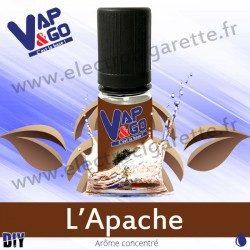 L'Apache - Vape&Go - Arôme concentré DiY - 10 ml