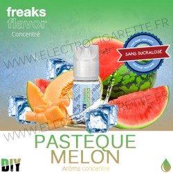 Pastèque Melon - Freezy Freaks - 30 ml - Arôme concentré DiY - Sans sucralose