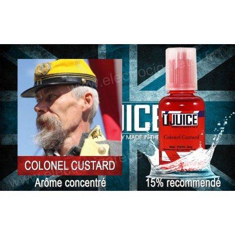Colonel Custard - T-Juice - Arôme concentré