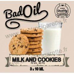 Bad Oil - Milk and Cookies - 3x10 ml