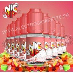 Nic Up - Sweet - 9 flacons + 1 offert - 100% VG