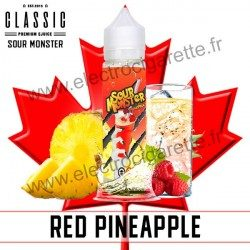 Red Pineapple - Sour Monster - Classic E-Juice - ZHC 50 ml